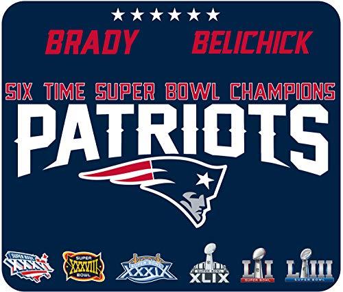 Patriots Super Bowl - Mouse Pad - 6X Champs - 2019 (Patriots Computer New England)