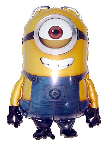 Anti-Gravity Hovering Flying Floating DESPICABLE ME MINION STUART 31 inch Toy Pet Balloon Party Favor