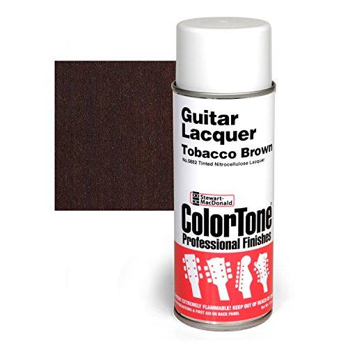 ColorTone Tinted Aerosol Guitar Lacquer, Tobacco Brown - Lacquer Aerosol