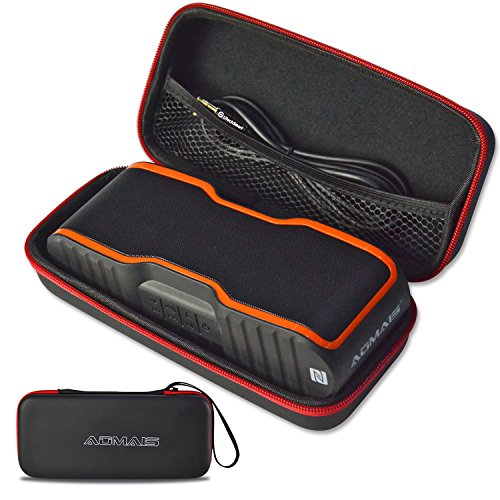 AOMAIS Speaker Case, UtechSmart Premium PU Leather Shockproo