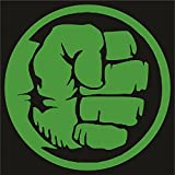 Marvel - Hulk Die Cut Premium Vinyl Decal - Green 4""