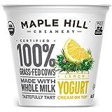 Maple Hill Organic Creamery (Grass-Fed Organic Yogurt, Lemon)