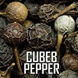 The Spice Lab's Cubeb Pepper Berry - Kubeben - Indonesia 4 Oz. bag - Premium (Whole) Long Tailed Pepper