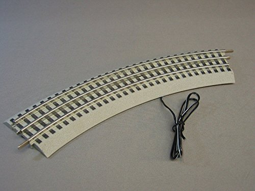 CURVE TRAIN TRACK CONNECTION w/POWER WIRE (Mth O Gauge Trains)