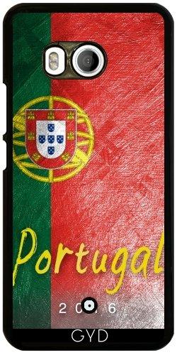 Funda para Htc U11 - Bandera De Portugal by Julien Kaltnecker