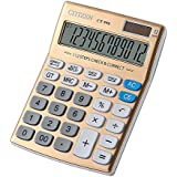 LI-GELISI Superior Quality Large Electronic Desktop Calculator with 12-digit Large Display, Solar and AA Battery Dual Power