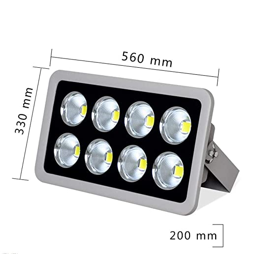 Q-fo Foco Proyector LED Exterior, Impermeable Súper Brillante Luz ...