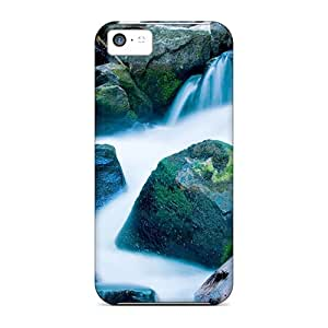 Awesome Design Mountain Waterfall In Idaho Hard Case Cover For Iphone 5c