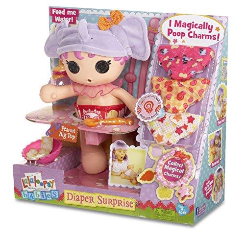Lalaloopsy Babies Diaper Surprise Peanut Big Top Doll]()