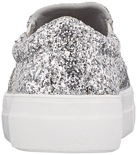516 Slip Trainers Silver Women's 8963 Buffalo on Glitter 3 q17xSB