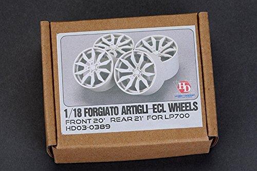 Hobby Design 1/18 Forgiato Artigli-ECL wheel HD03-0389