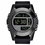 Nixon Unit Black Quartz Digital Men's Watch A365-001