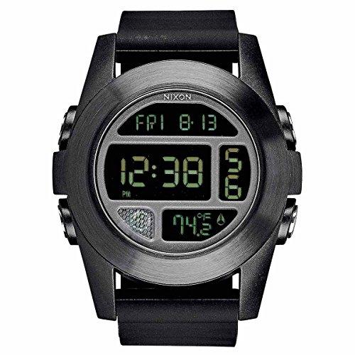 Nixon Unit Black Quartz Digital Men's Watch A365-001