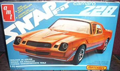 # 2308 AMT / Matchbox Snap Fit Camaro Z28 1/25 Scale Plastic model kitneeds assembly by AMT Datasouth [parallel import goods]