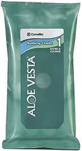 Convatec Aloe Vesta Bathing Cloths - 8 Ea (Pack of 3)