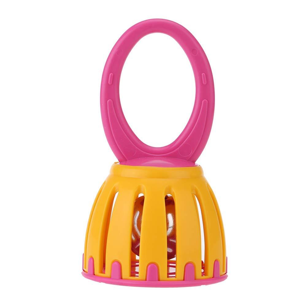 Ogquaton Premium Quality Mini Cage Cloche Jouet Enfants Hochet Percussion Musical Instrument Jeu /Éducatif