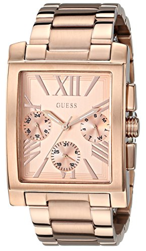 GUESS U0450L3 Sophisticated Gold Tone Multi Function