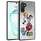 DISNEY COLLECTION Case for Samsung Galaxy Note 10 (6.3 inch) TPU+PC Mickey Mouse Cartoon Cute Rub Slip Shock Proof Protective Cover