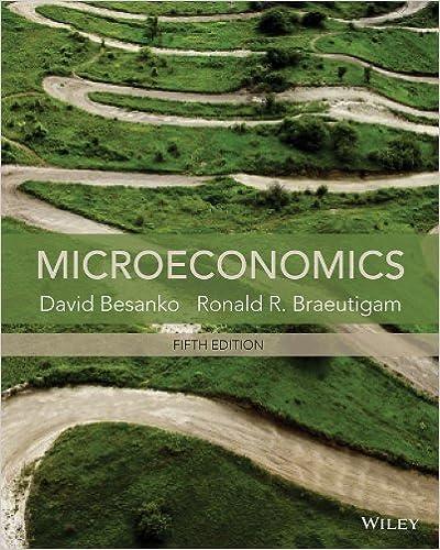 Microeconomics David Besanko and Ronald Braeutigam