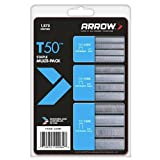 Arrow Fastener 50MP T50 Staple Multi-Pack, 1875-Pack