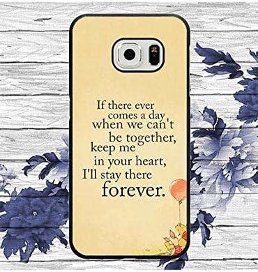ShopStyAli Samsung S6 Edge Coque Disney, Winnie The Pooh Bear Cool Cell Phone Coque,Samsung Galaxy S6 Edge Housse Coque Hard Cover