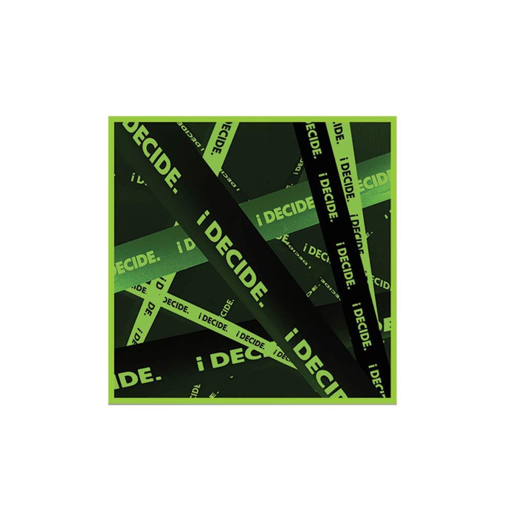 YG Entertainment Idol Goods Fan Products YG Select iKON 3rd Mini Album [i Decide] (Green)