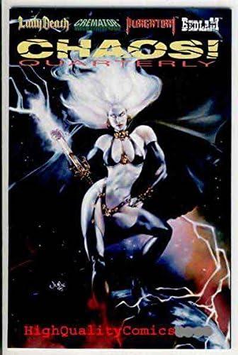 Lady Death By Steven Hughes #1 Chaos Comics NM