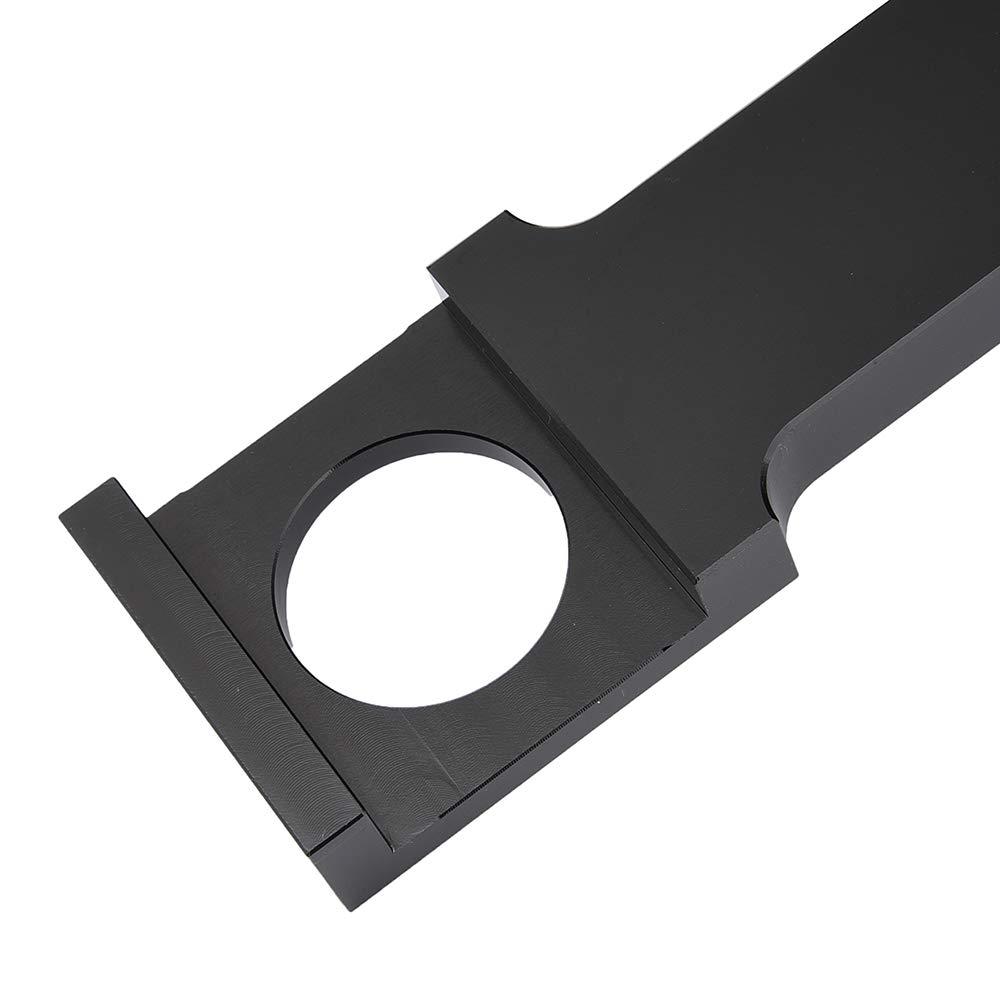 Chrome XX eCommerce Moto Billet Aluminium Noir Chrome Bras oscillant C/ôt/é Montage Courbe Queue Porte-plaque Supports de plaque dimmatriculation pour Y-a-m-a-h-a YZF R1 R6S YZFR1 R 6 S