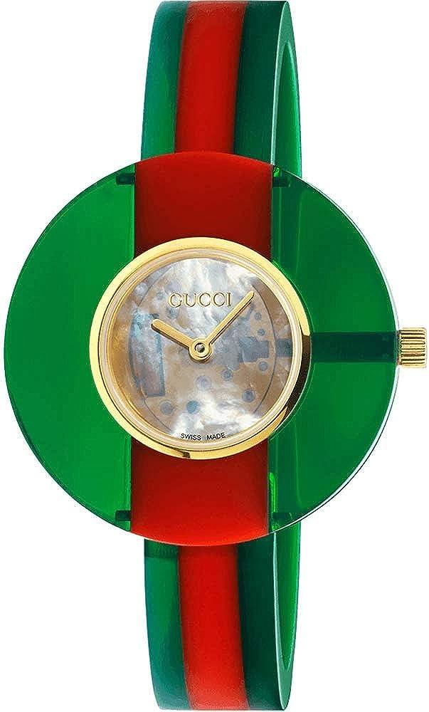 Gucci YA143403 - Reloj de pulsera vintage, 35 mm