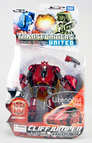 Transformers Takara Tomy United UN-03 WFC Cliffjumper Autobot Warrior