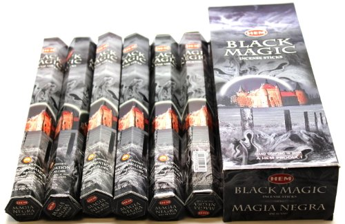 Black Magic - 120 Sticks Box - HEM Incense - Incense Sticks Temple