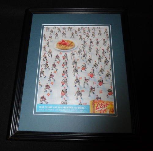2015-leggo-my-eggo-waffles-11x14-framed-original-advertisement-b