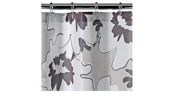 Curtains Ideas apt 9 shower curtain : Amazon.com: Apt 9 Brown Floral Fabric Shower Curtain Pretty Flower ...