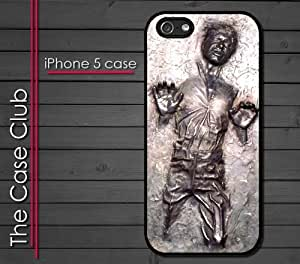 iPhone 5C (New Color Model) Rubber Silicone Case - Han Solo Frozen in Carbonite