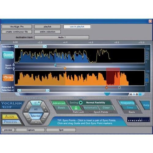 - Avid VocALign PRO Plug In (Pro Tools)