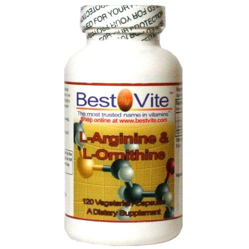 L-arginina-L-ornitina 500-250 (120 cápsulas vegetarianas)