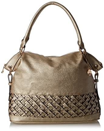 BIG BUDDHA Jshlimar Shoulder Bag,Gold,One Size