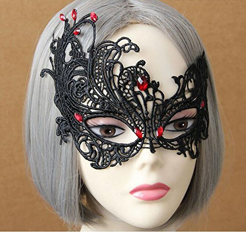 Party Mask Sexy Charming Lady Mask Masquerade Halloween Costume Accessory By Guardians (model (Celebrity Quality Costumes)