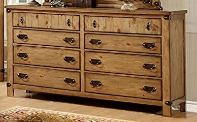 Pioneer Burnished Pine Dresser