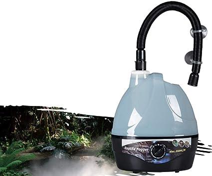 MUJING Fuente De Agua Nebulizador Fuente Florero Tanque De Acuario Atomizador Humidificador De Aire Generador De Niebla (con Adaptador): Amazon.es: Hogar