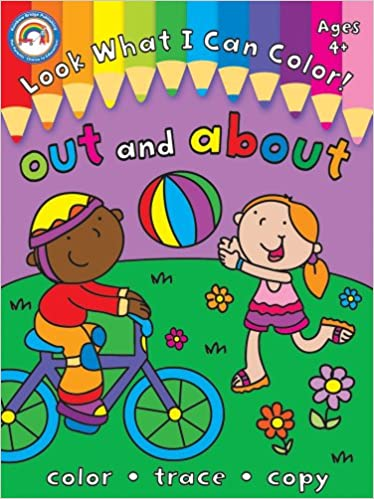 Look What I Can Color!, Grades Pk - 1: Out And About PDF Descarga gratuita