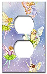 Art Plates - Fairies Switch Plate - Outlet Cover