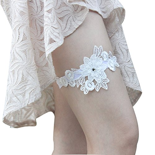 MTES Lace Garter Bridal Garter 1 Piece of Garter for Wedding and Prom
