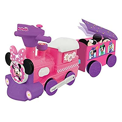 Kiddieland Disney Minnie Mouse Ride-On Motorized Train With Track by Minnie Mouse: Toys & Games