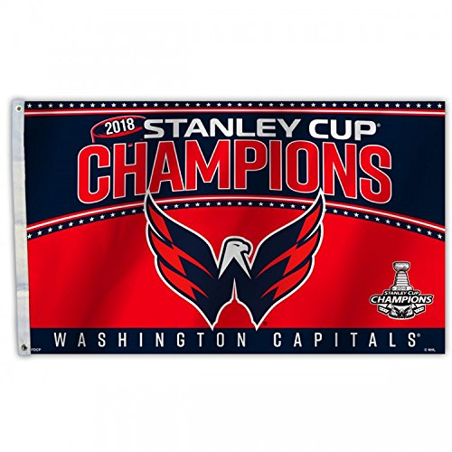 NHL Washington Capitals 2018 Stanley Cup Champions 3 x 5-Foot Flag with Grommets