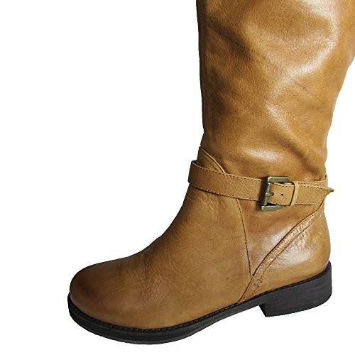 Gentle Souls Womens Oliver Equestrian Boot Rust Brown NRu2Si