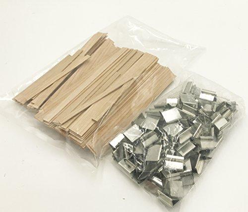 Candlewic 100pk Sampler of Cherry Wood Wicks - 5 sizes