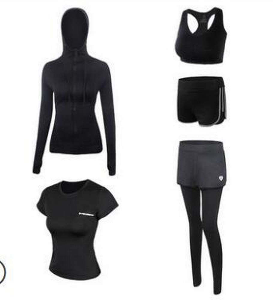 Sport Suit for Women Quick Drying Clothing for Ladies Yoga Clothing [N]