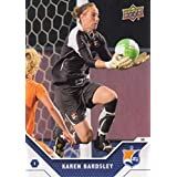 2011 Upper Deck MLS Soccer #197 Karen Bardsley Sky Blue FC WPS Super Draft Official Major League Soccer Trading Card From UD