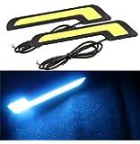 JX-SHOPPU LED デイライトフォグランプ 白 ホワイト ベンツ風
